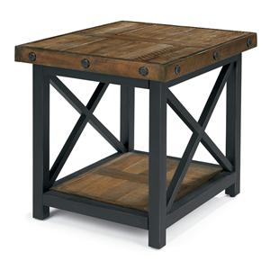 Flexsteel Carpenter Rectangle End Table