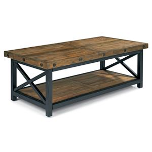 Flexsteel Carpenter Rectangle Cocktail Table