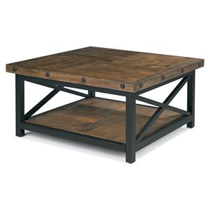 Flexsteel Carpenter Square Cocktail Table