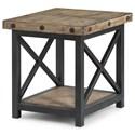 Flexsteel Carpenter Rectangle End Table - Item Number: 6723-01