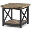 Flexsteel Carpenter Square End Table - Item Number: 6723-02