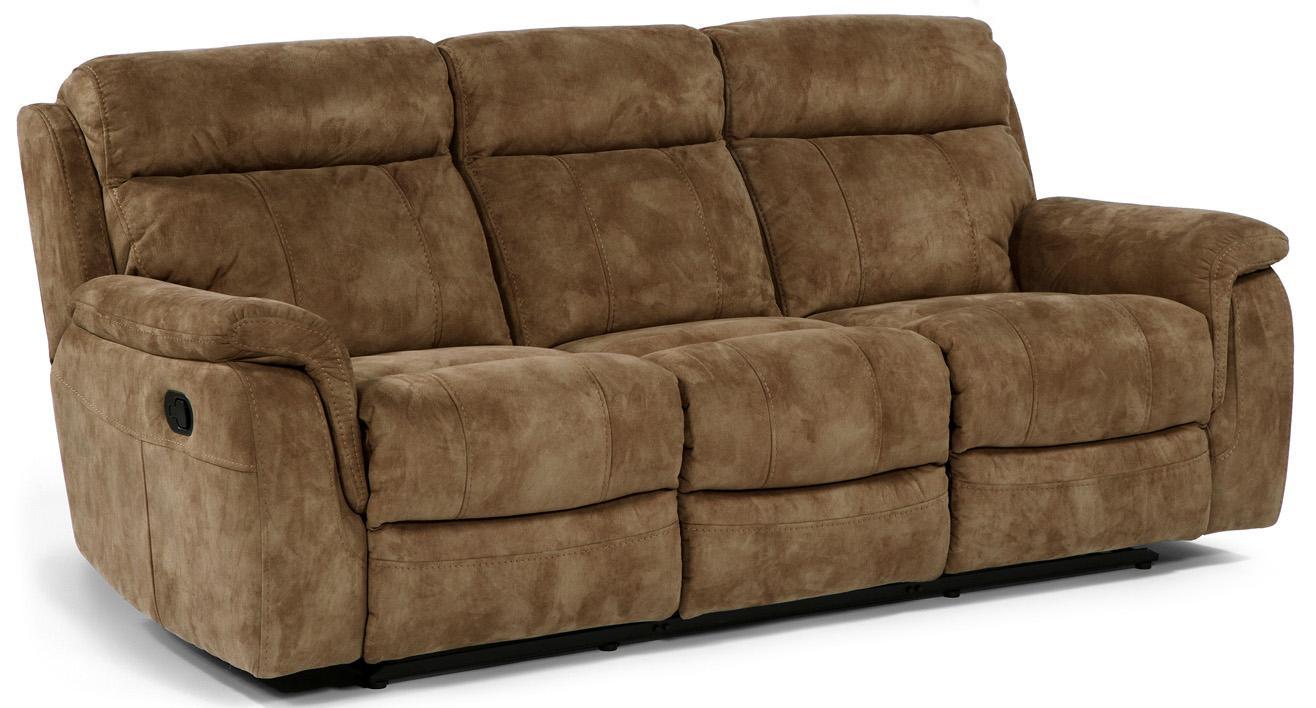 Flexsteel Latitudes Casino 1425 62 Double Reclining Sofa With