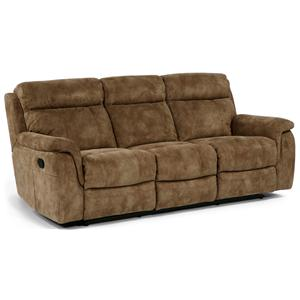Flexsteel Latitudes - Casino Double Reclining Sofa