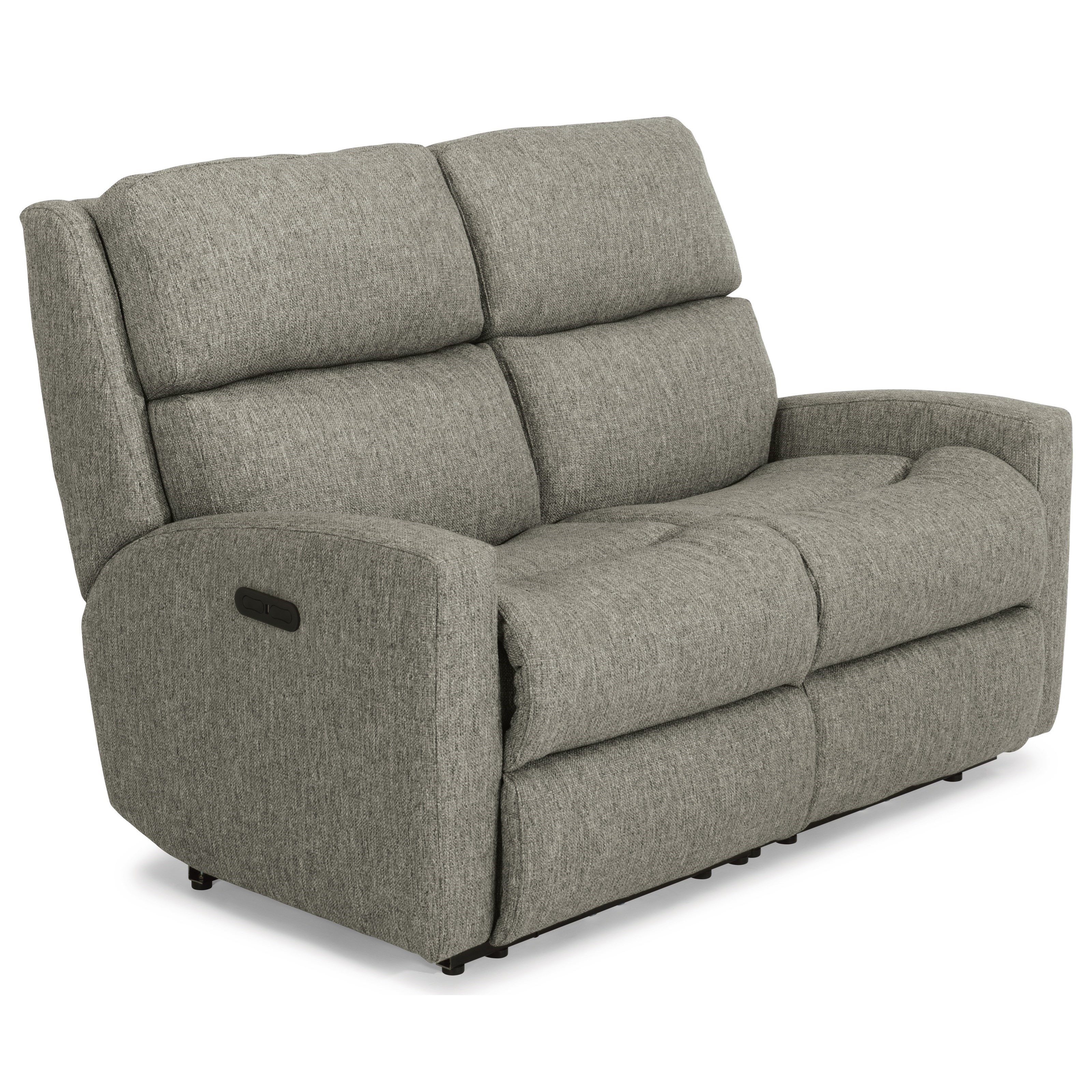 Catalina Power Reclining Loveseat w/ Pwr Headrests by Flexsteel at Jordan's Home Furnishings