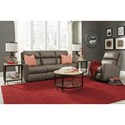 Flexsteel Balboa Power Reclining Living Room Group - Item Number: 3900 Living Room Group 3
