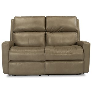 Flexsteel Catalina Power Reclining Loveseat