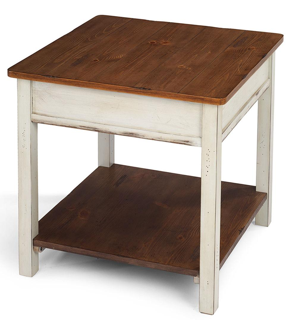 Flexsteel Chateau Square End Table - Item Number: 6683-02