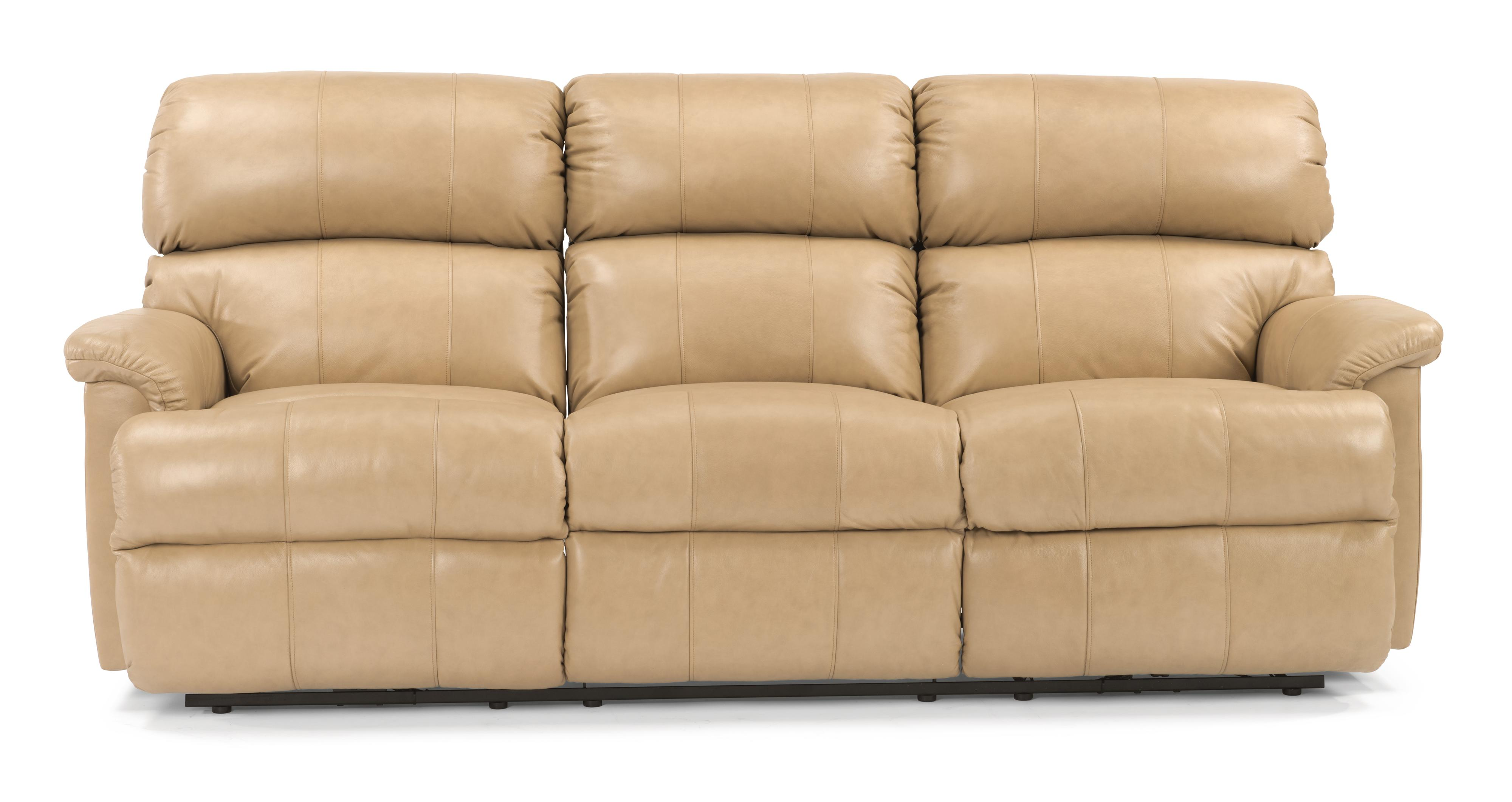 "Flexsteel Chicago 87"" Chicago Double Reclining Sofa - Item Number: 3066-62"