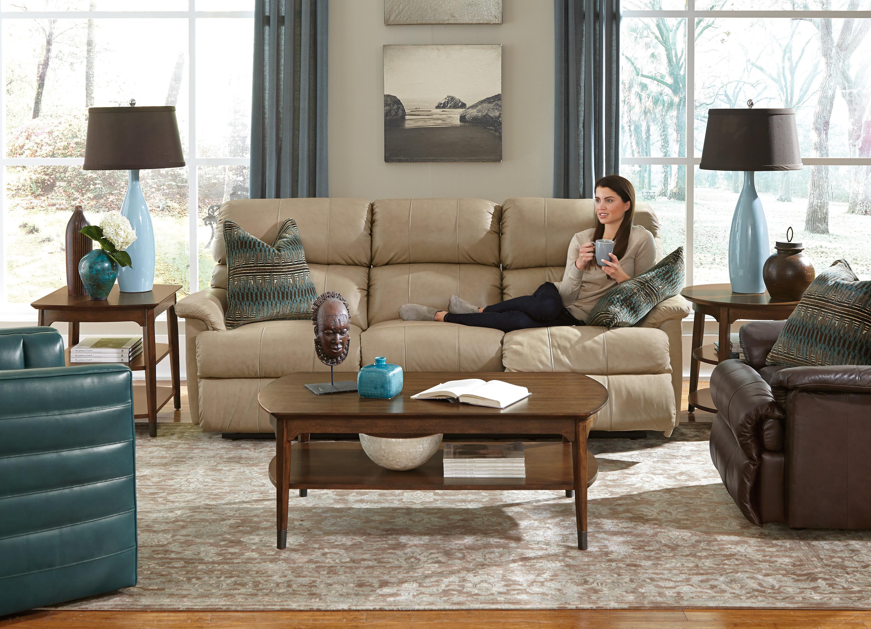 Flexsteel Chicago Power Reclining Sofa - Dunk u0026 Bright Furniture - Reclining Sofas