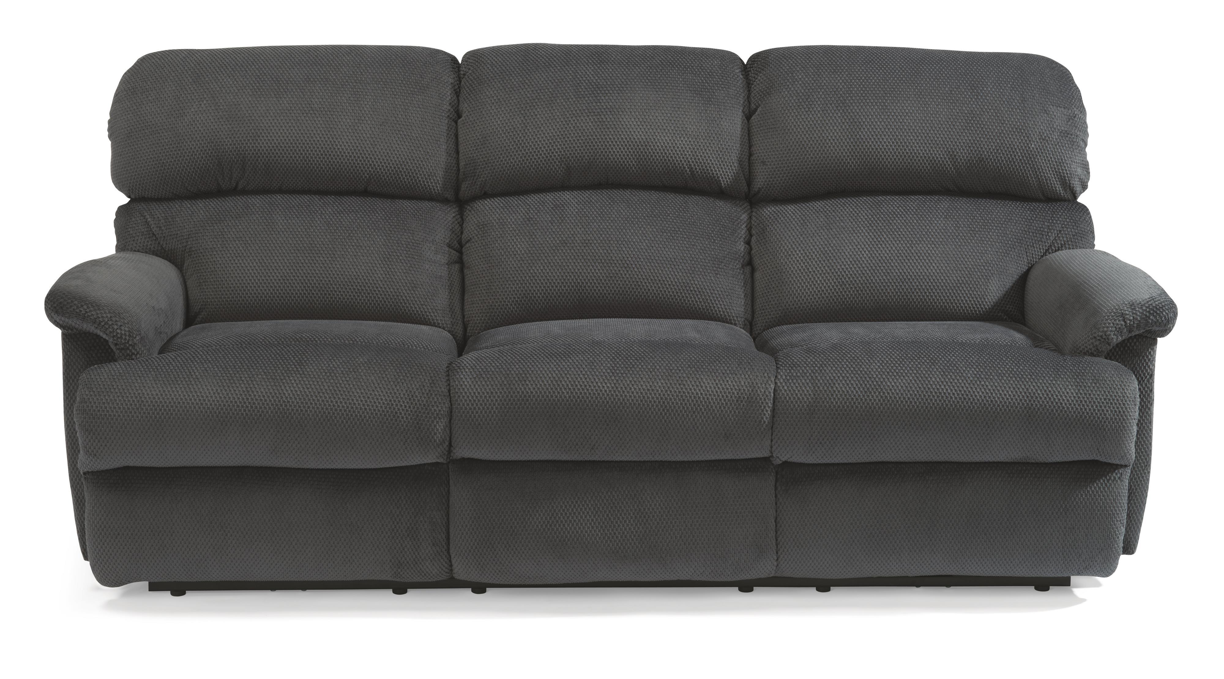 "Flexsteel Chicago 87"" Chicago Double Reclining Sofa - Item Number: 7066-62"
