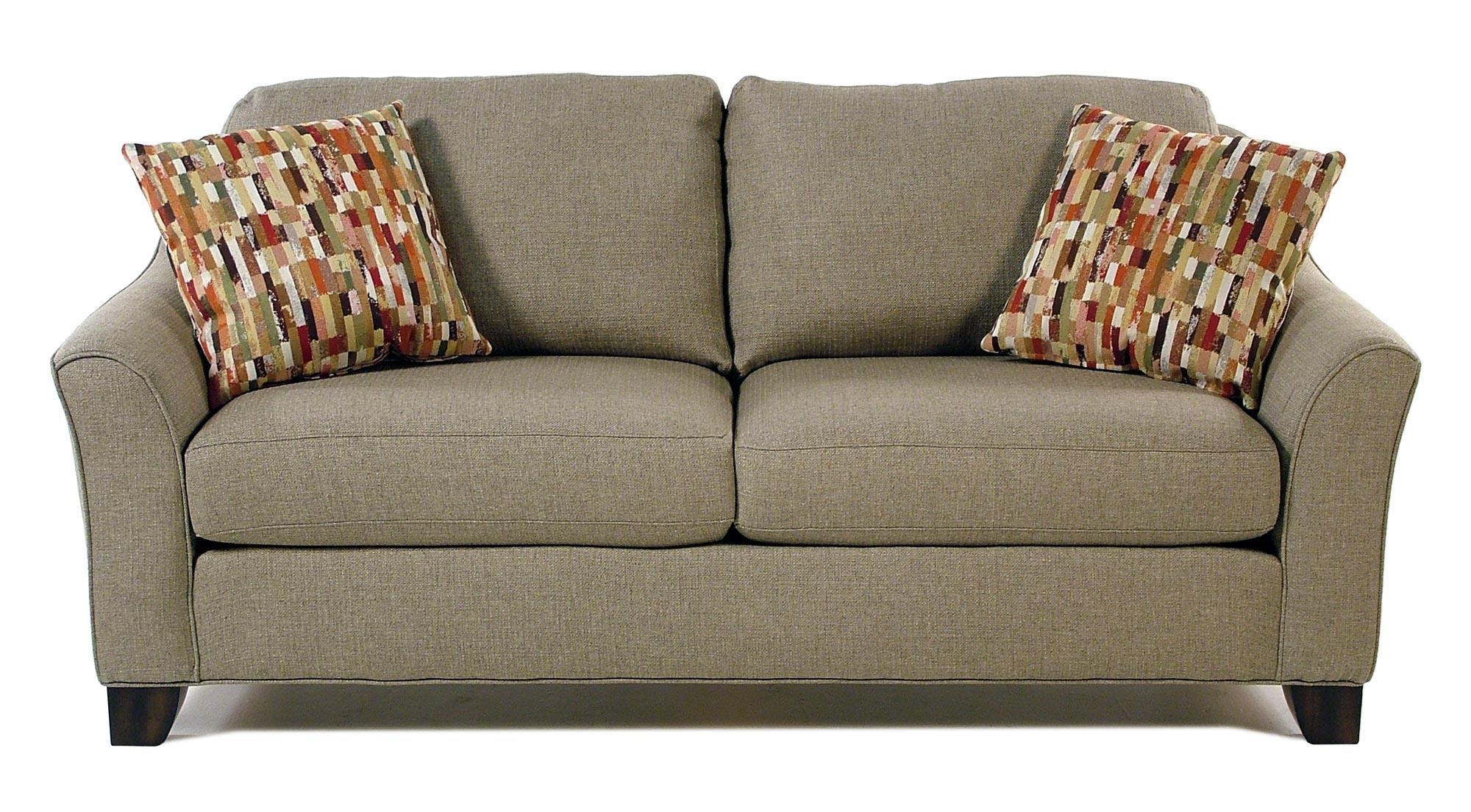 Flexsteel Caberet Flared Arm Sofa - Item Number: S5687-30-145-80