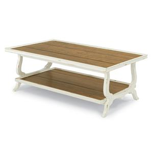 Flexsteel Cottage Grove Rectangle Cocktail Table