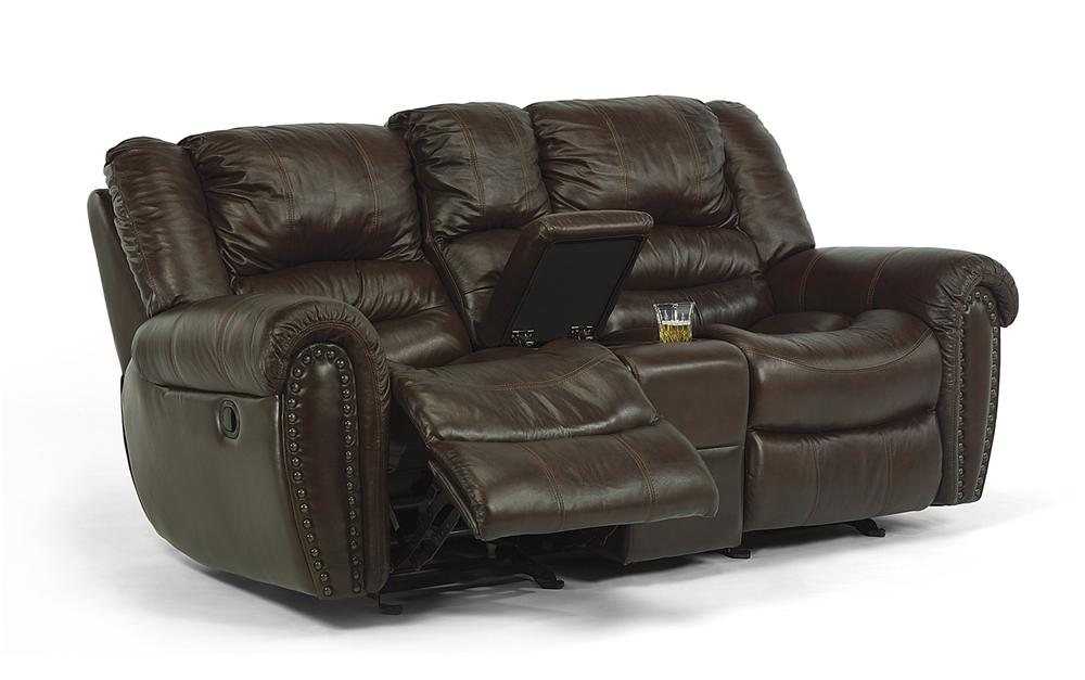 Flexsteel Latitudes - Crosstown Dual Reclining Love Seat with ...