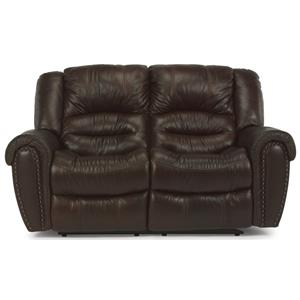 Flexsteel Latitudes - Crosstown Power Reclining Loveseat