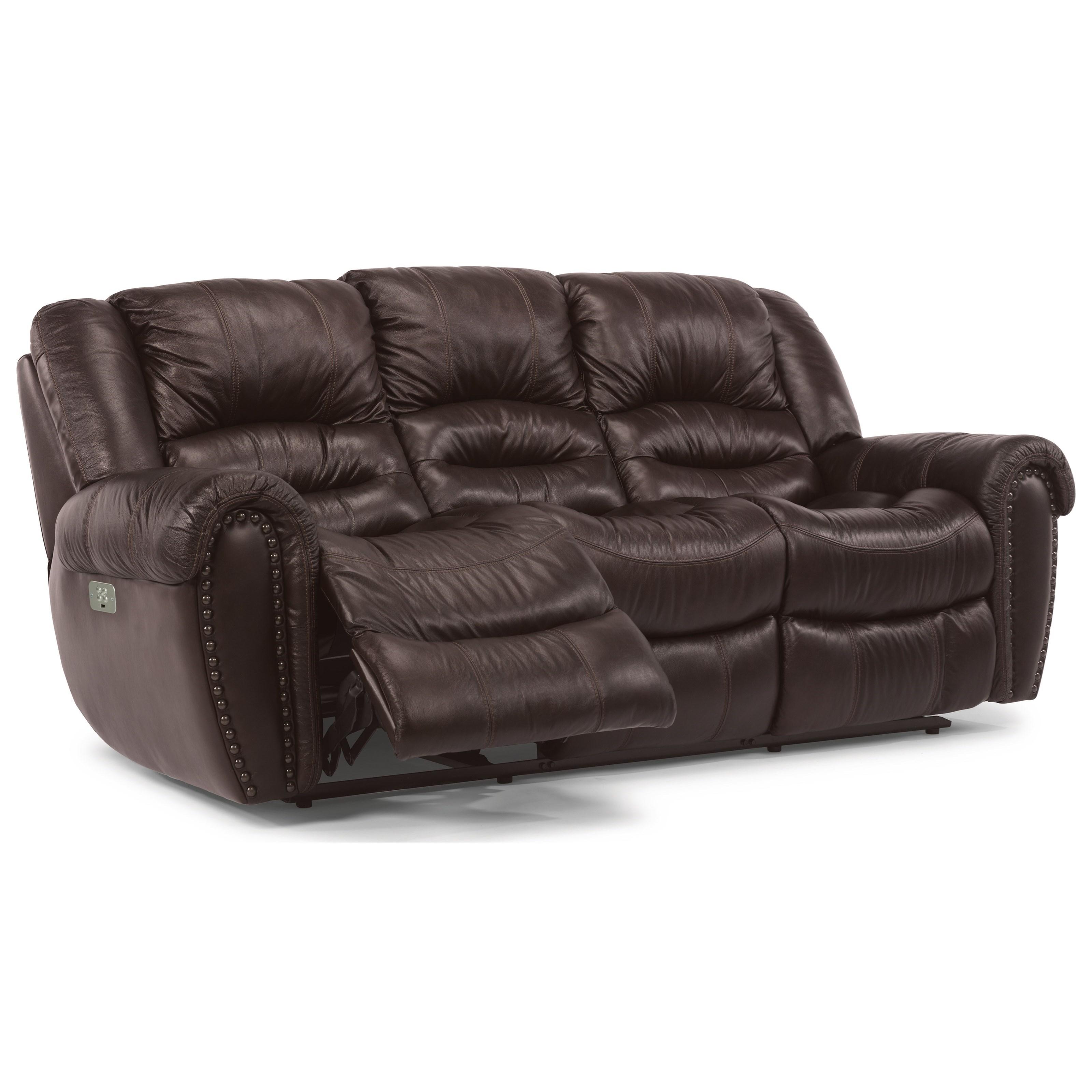 Flexsteel Furniture Uk: Flexsteel Crosstown 1210-62PH Power Reclining Sofa With