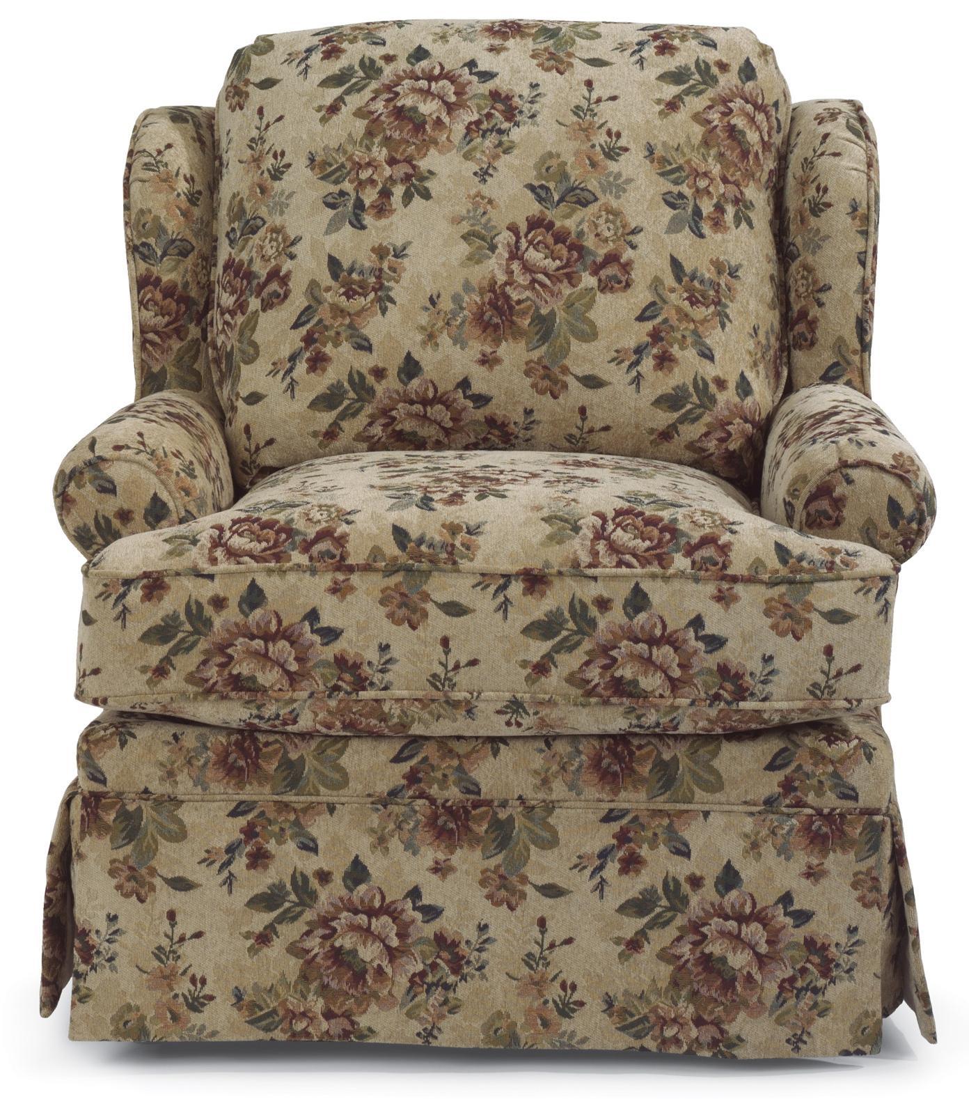 Flexsteel Danville Upholstered Chair - Item Number: 5948-10