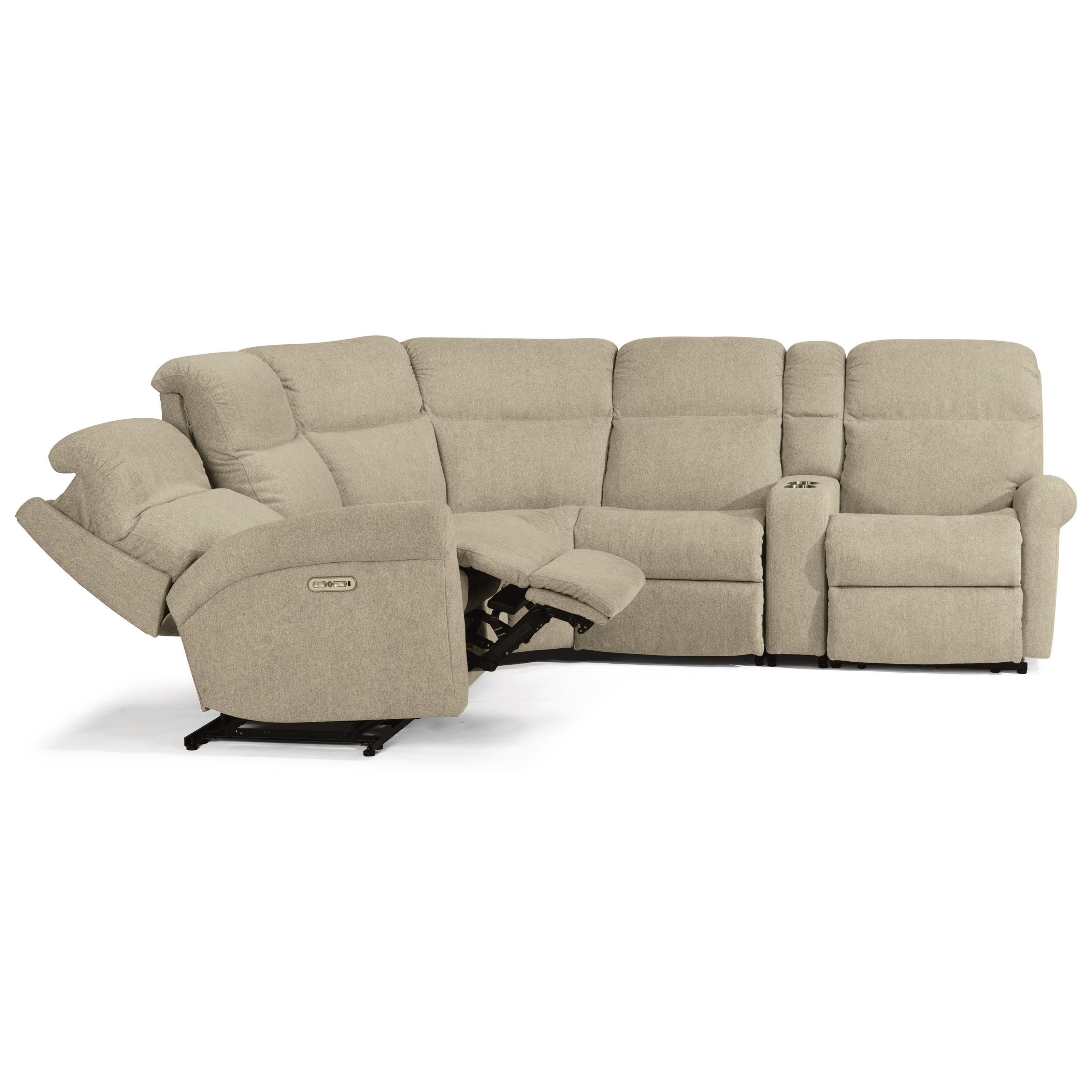 6-Pc Power Reclining Sectional