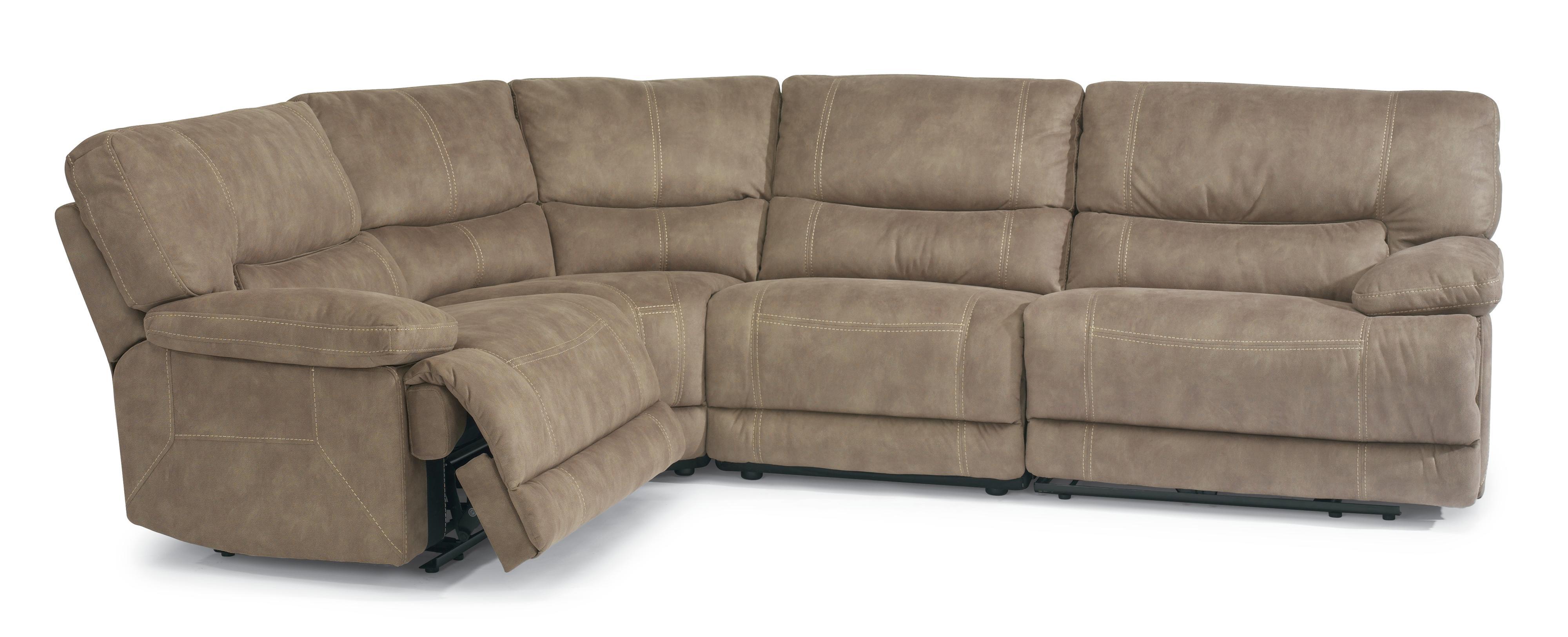 Flexsteel Latitudes Delia Reclining Sectional Sofa With