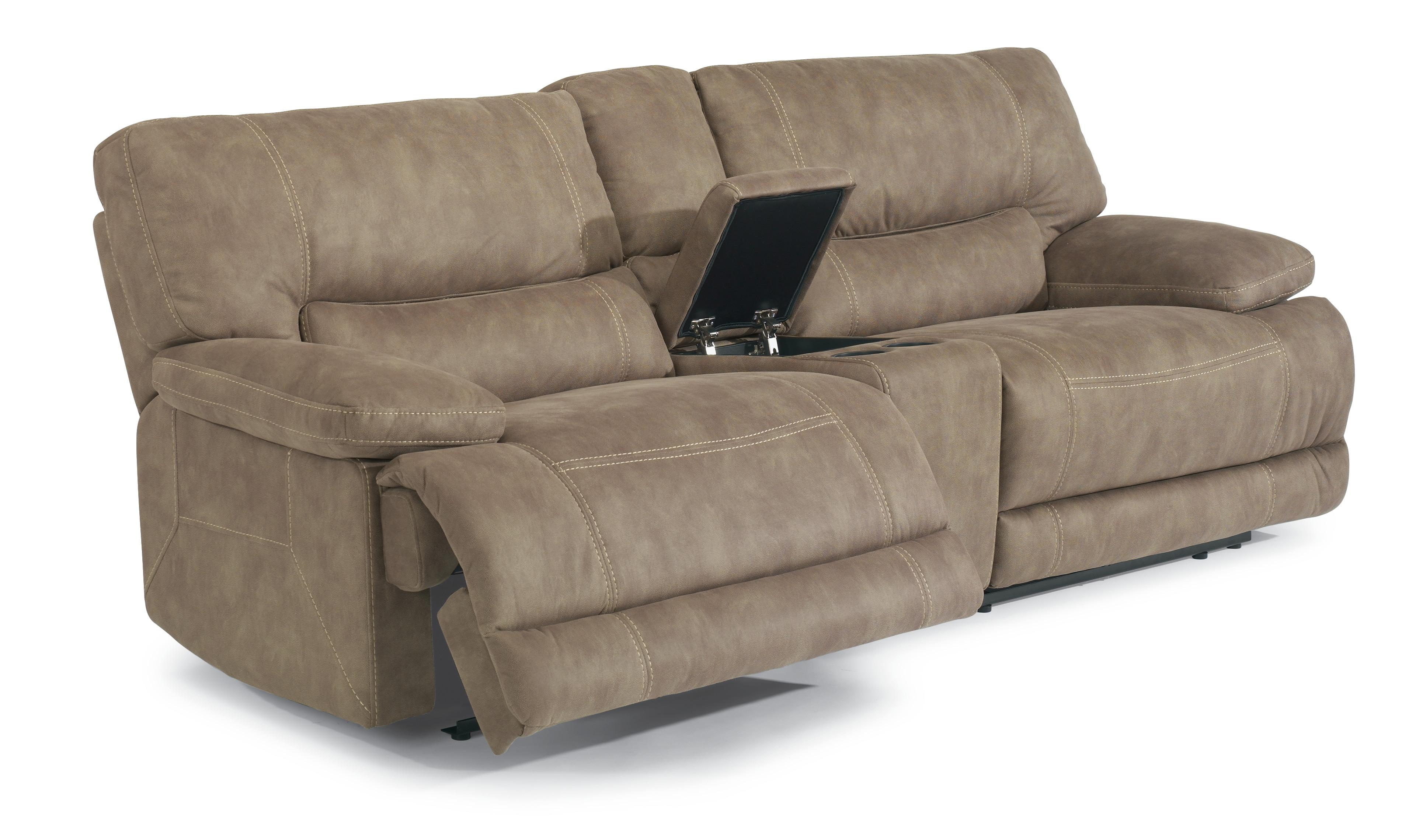 Flexsteel Latitudes Delia Power Reclining Sectional Sofa with