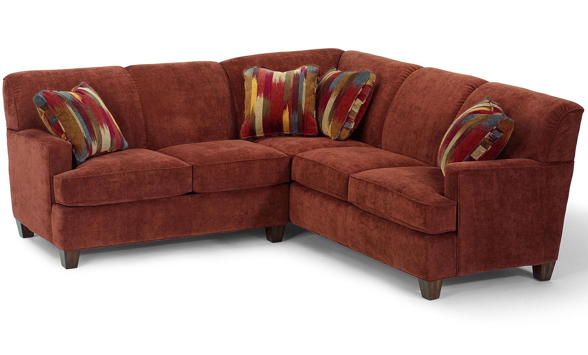 Flexsteel Dempsey Contemporary 2 Piece Sectional Sofa with LAF