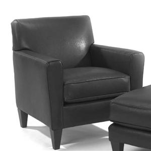 Flexsteel Bruno Lucas Leather Chair