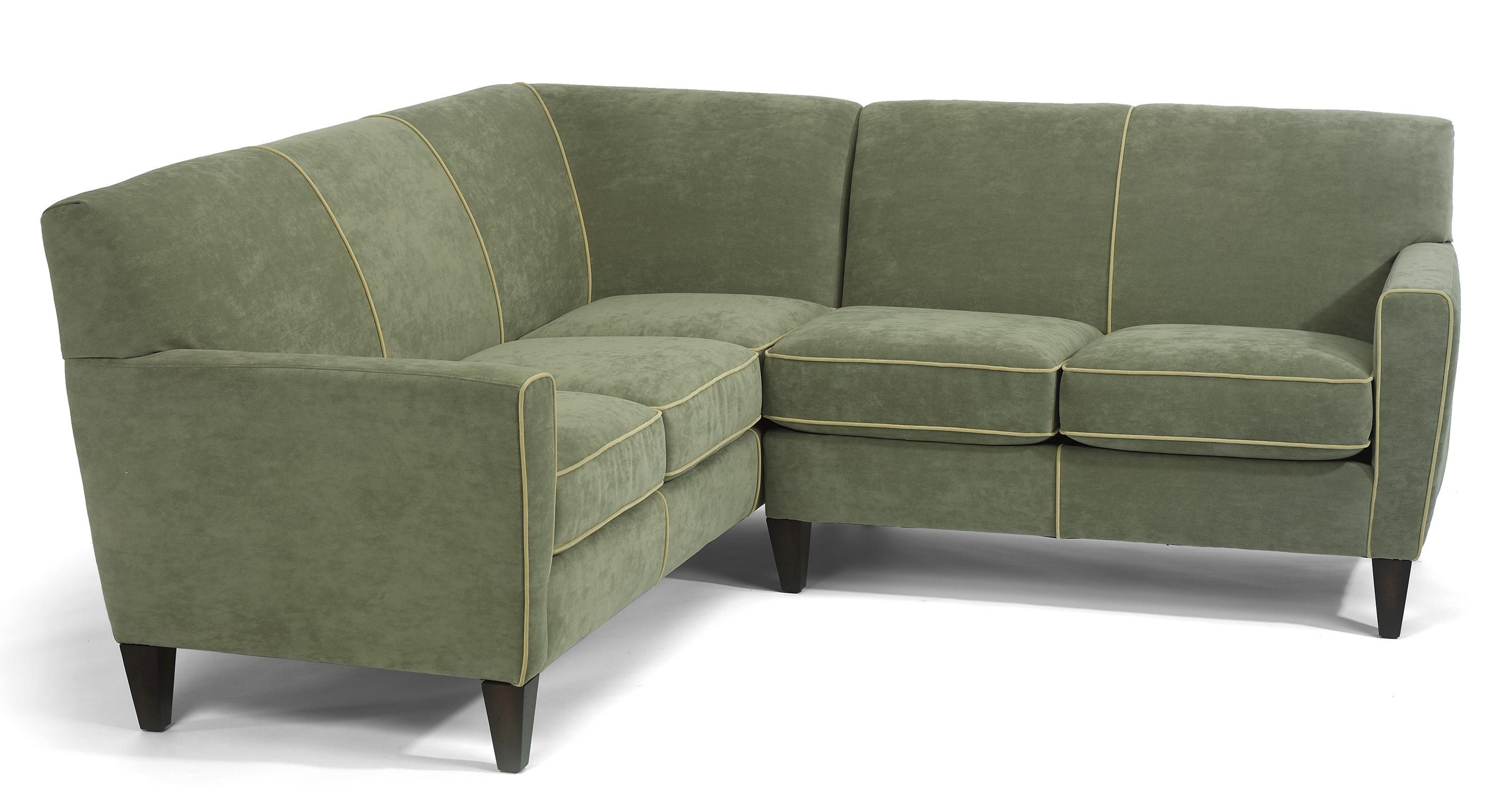 Flexsteel Digby Contemporary L Shape Sectional Sofa AHFA Sofa