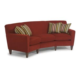 Flexsteel Chazz Conversation Sofa