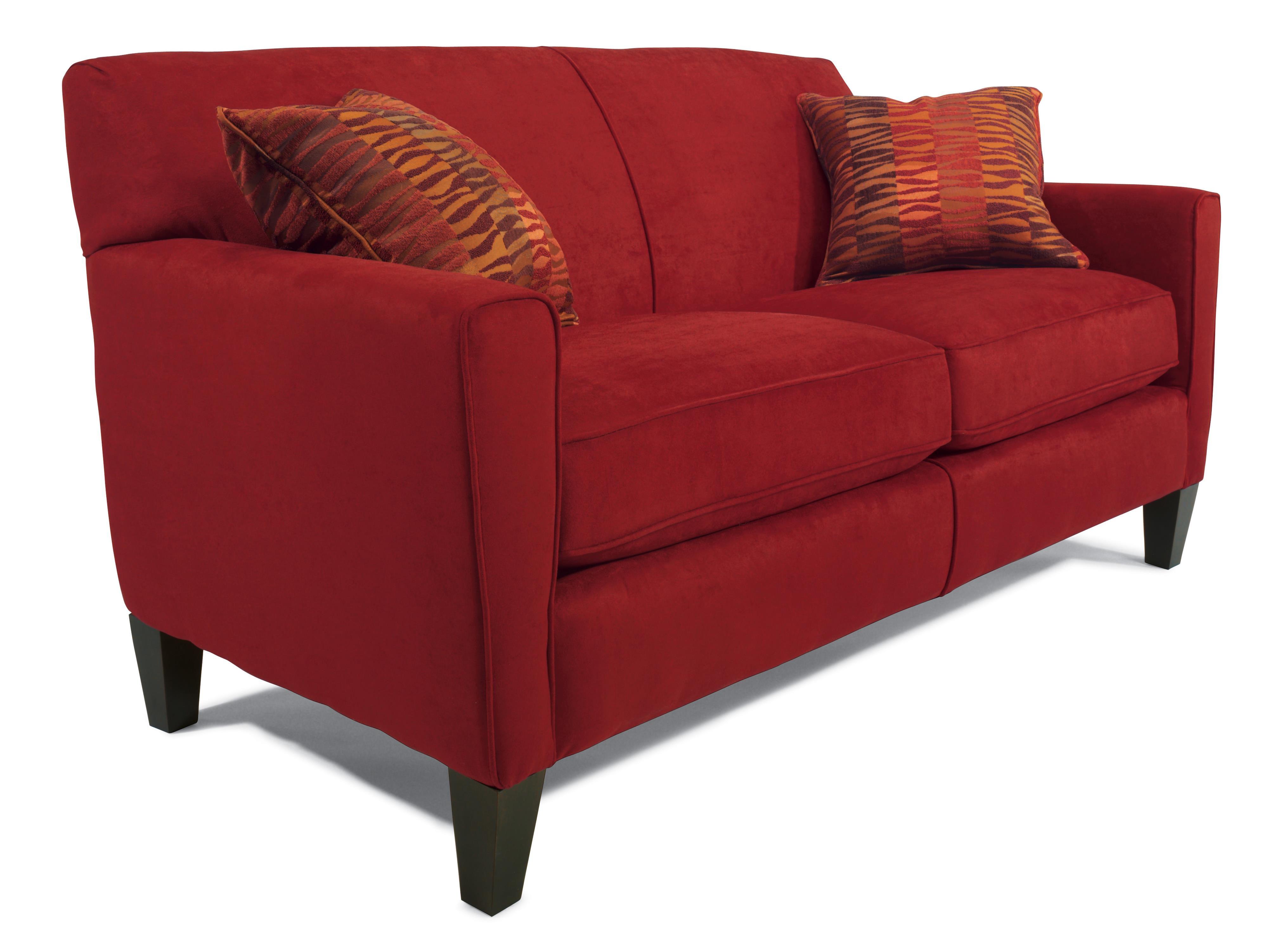 "Flexsteel Digby 70"" Sofa w/ Two Cushions - Item Number: 596630"
