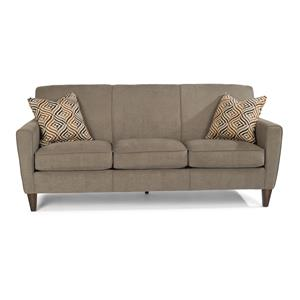 Flexsteel Digby Upholstered Sofa Howell Furniture Sofas