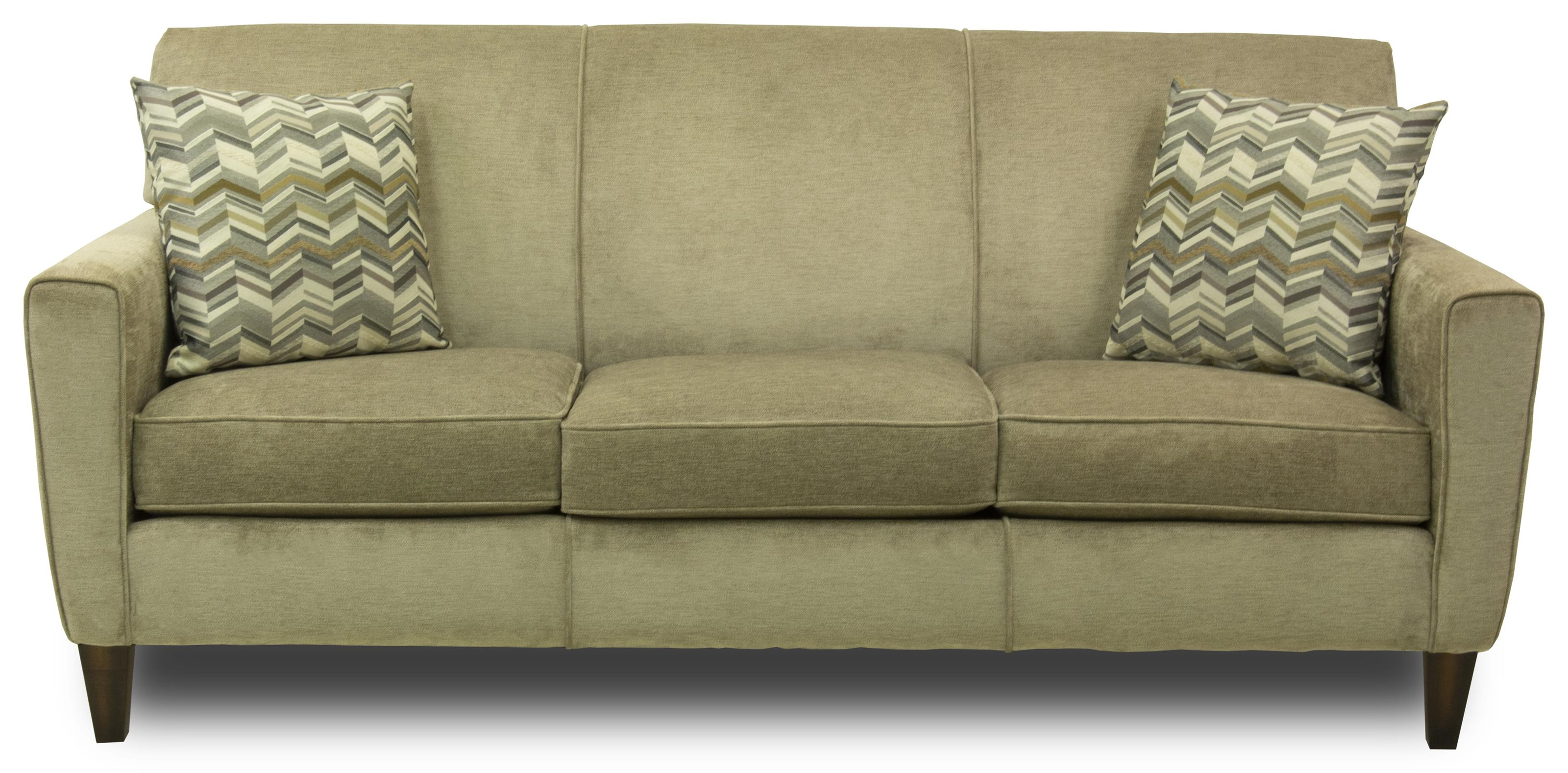 Flexsteel Digby Upholstered Sofa Ruby