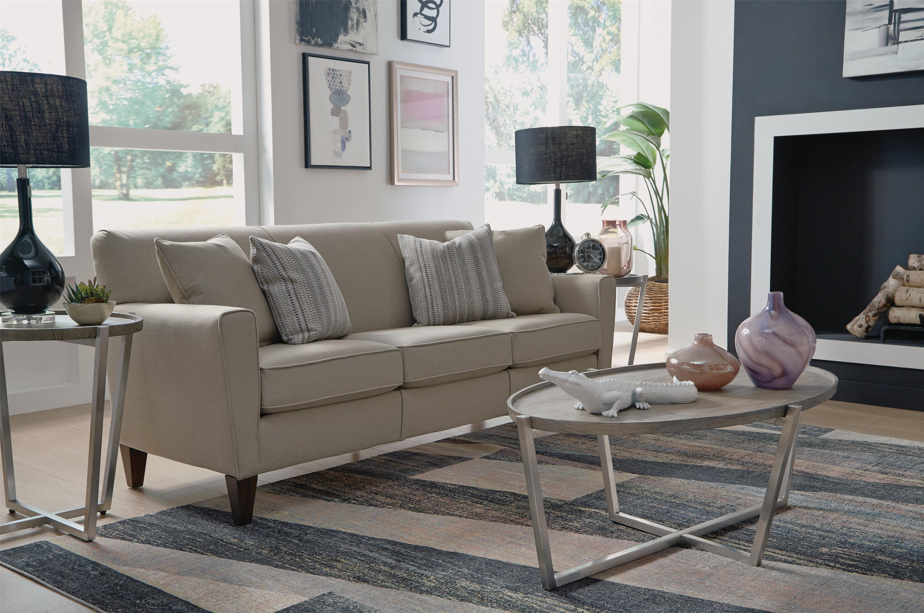 Bella Living Room Group Flexsteel Bella by Flexsteel at Crowley Furniture & Mattress