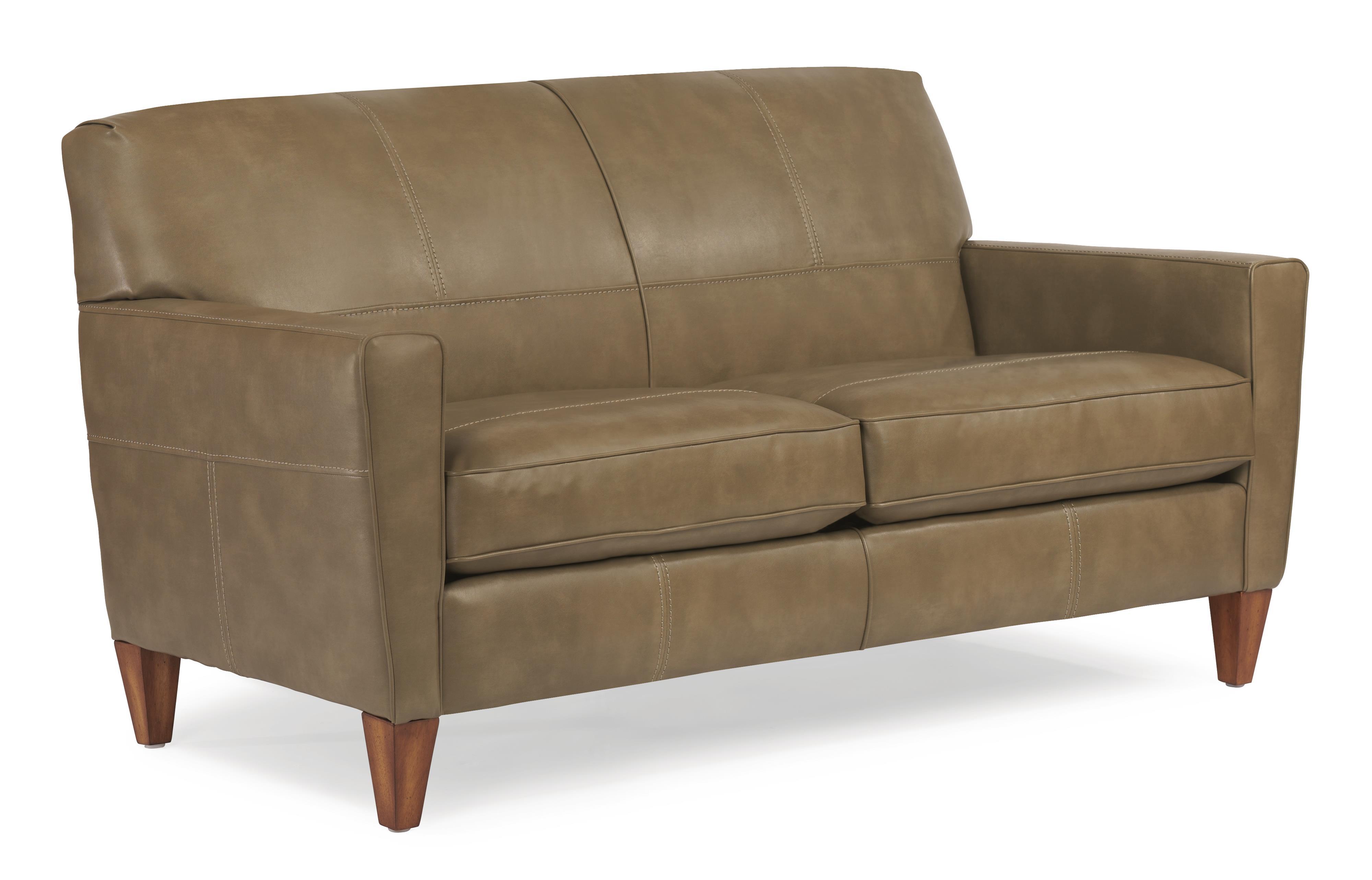 "Flexsteel Digby 70"" Sofa w/ Two Cushions - Item Number: N5966-30"