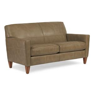"Flexsteel Chazz 70"" Sofa w/ Two Cushions"