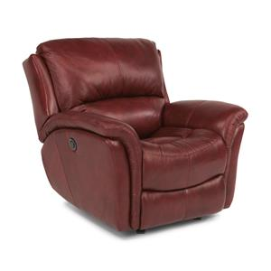 Flexsteel Dominique Glider Recliner with Power