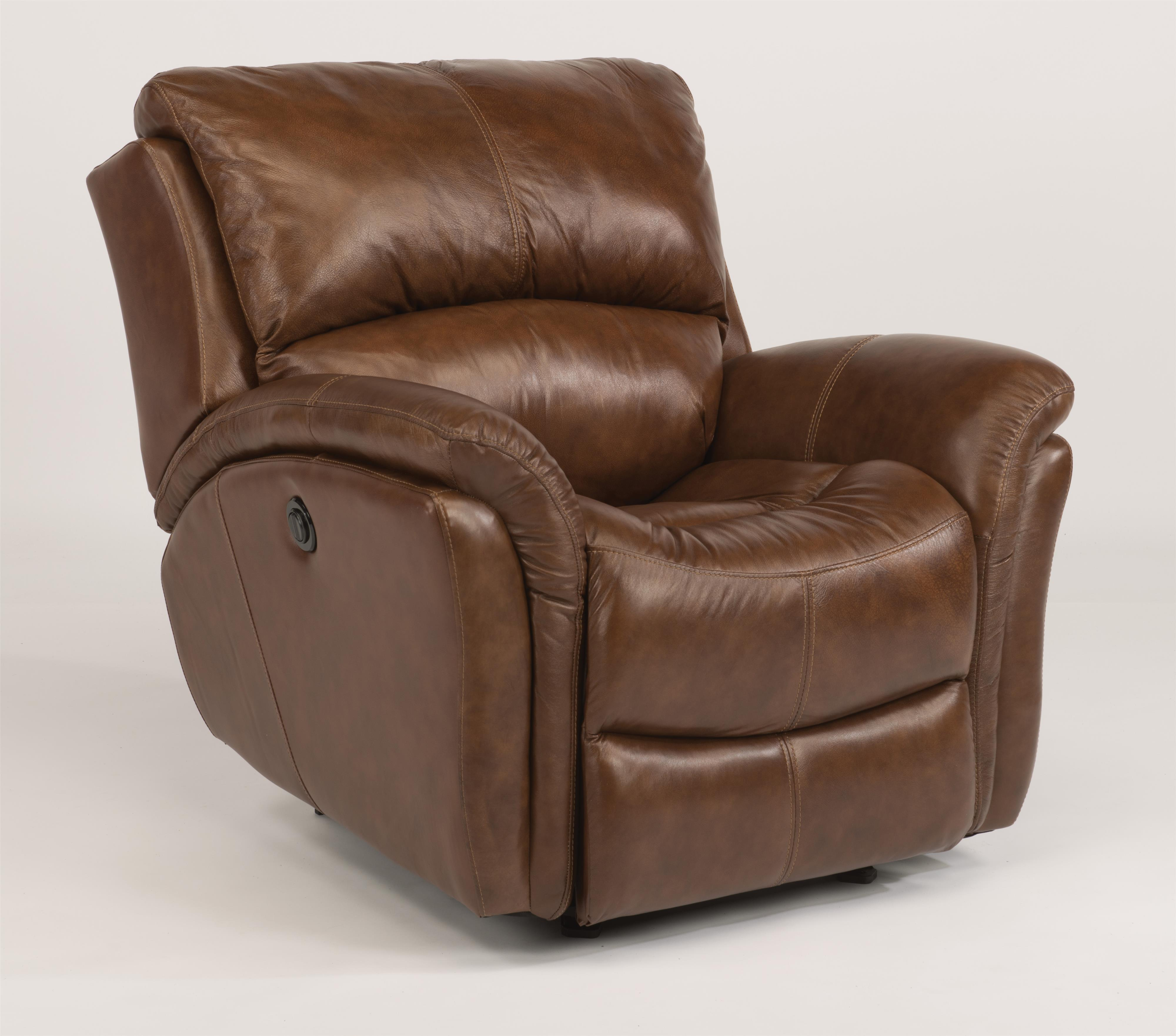 Flexsteel Electric Sofa: Dominique 1445-54P Casual Glider