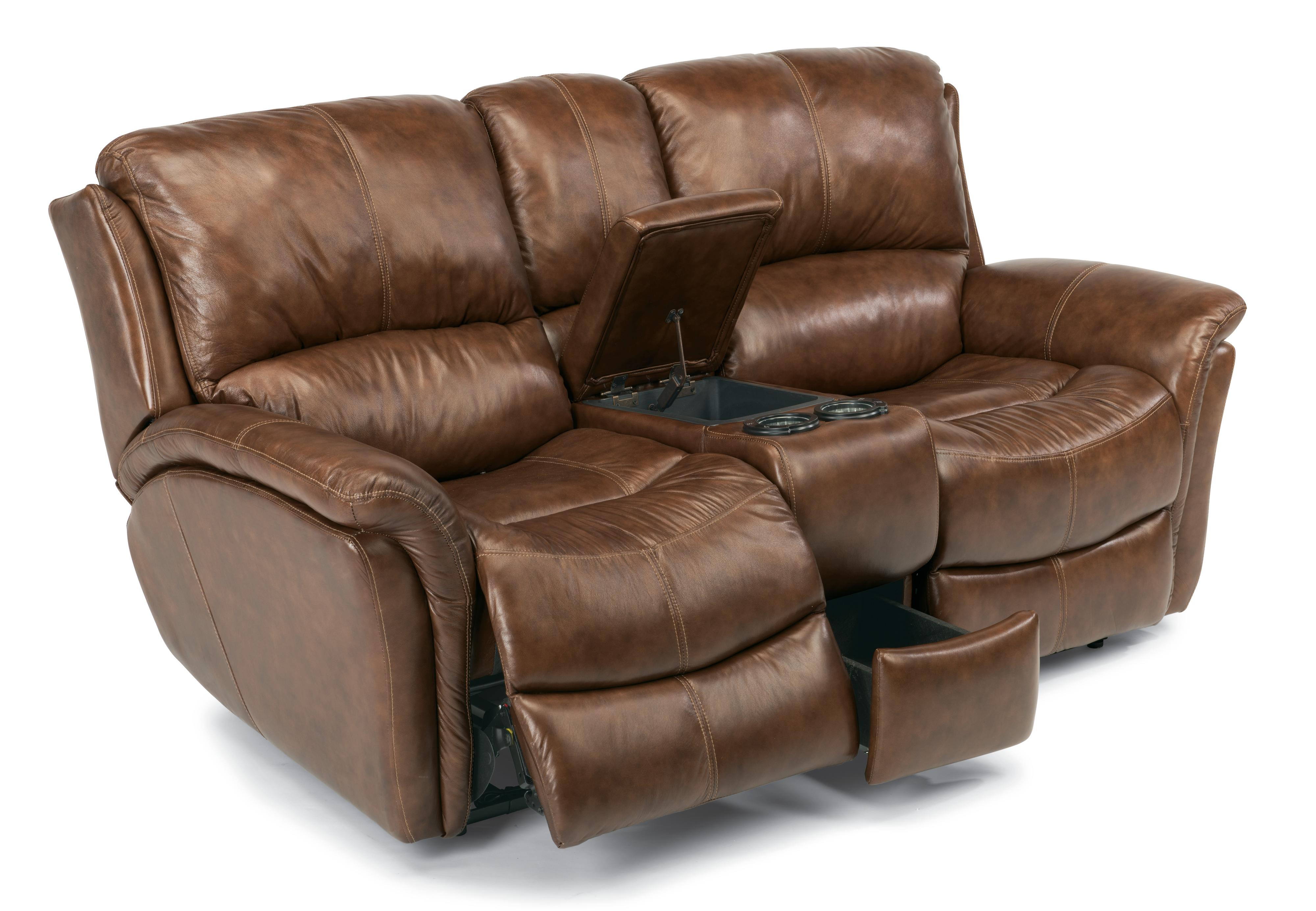 Power Love Seat with Console