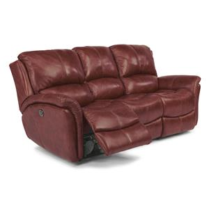 Flexsteel Dominique Power Reclining Sofa