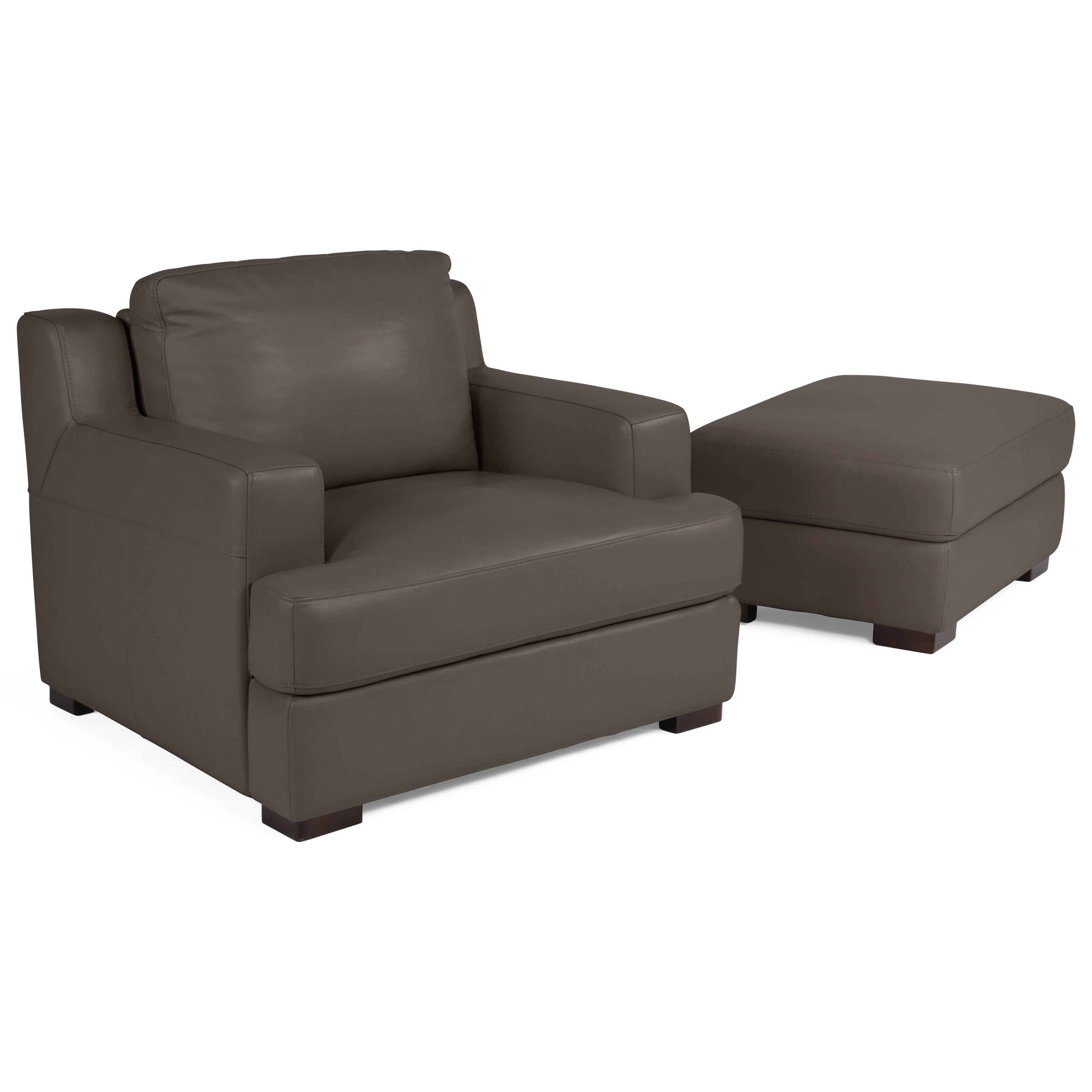 Power Adjustable Back Chair and Ottoman