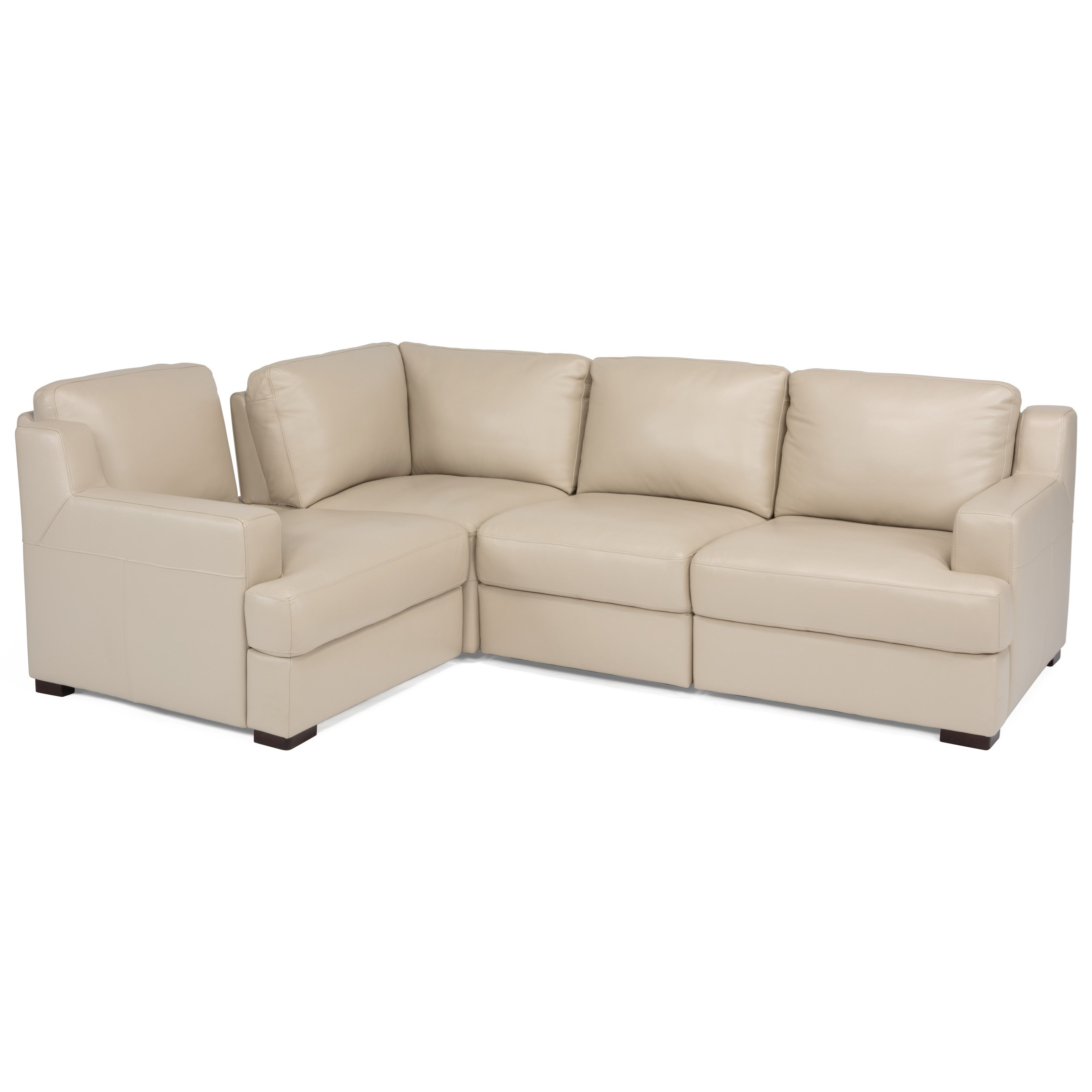 Latitudes- Dowd 4-Piece Sectional by Flexsteel at Walker's Furniture
