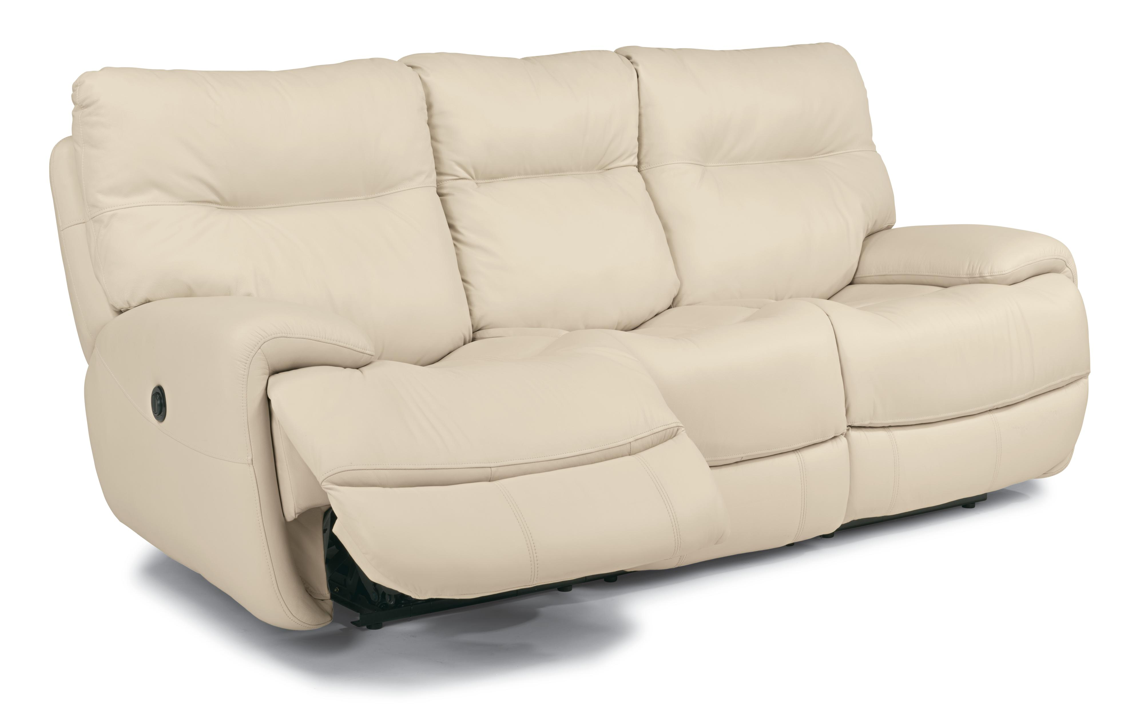 Flexsteel Latitudes Evian Power Reclining Sofa with Fold Down