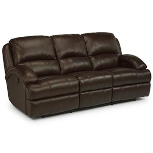 Flexsteel Latitudes - Fast Lane Double Reclining Sofa
