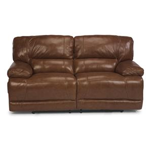 Flexsteel Fleet Street Power Reclining Loveseat
