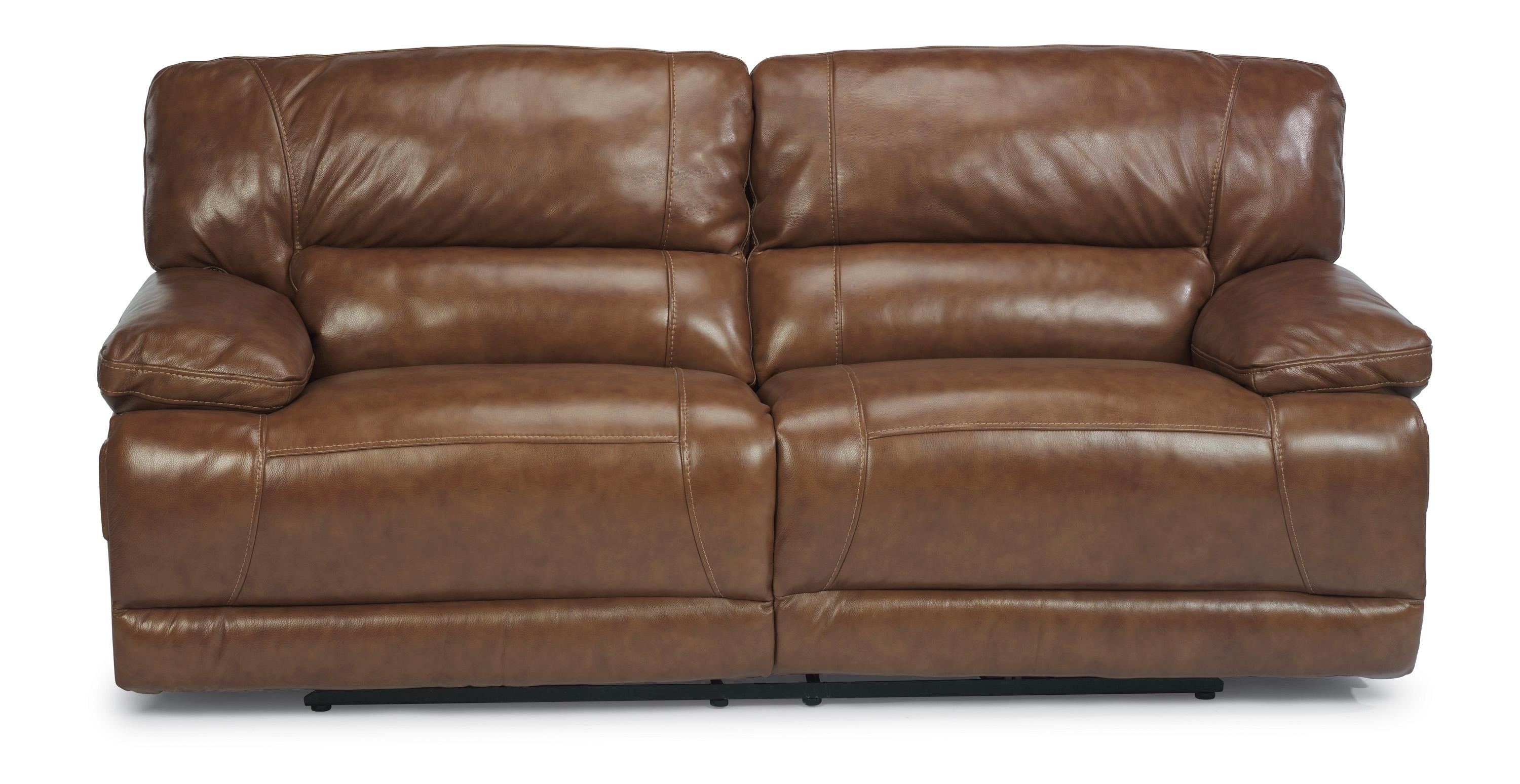 Flexsteel Fleet Street Power Reclining Sofa - Item Number: 1237-62P-794-72