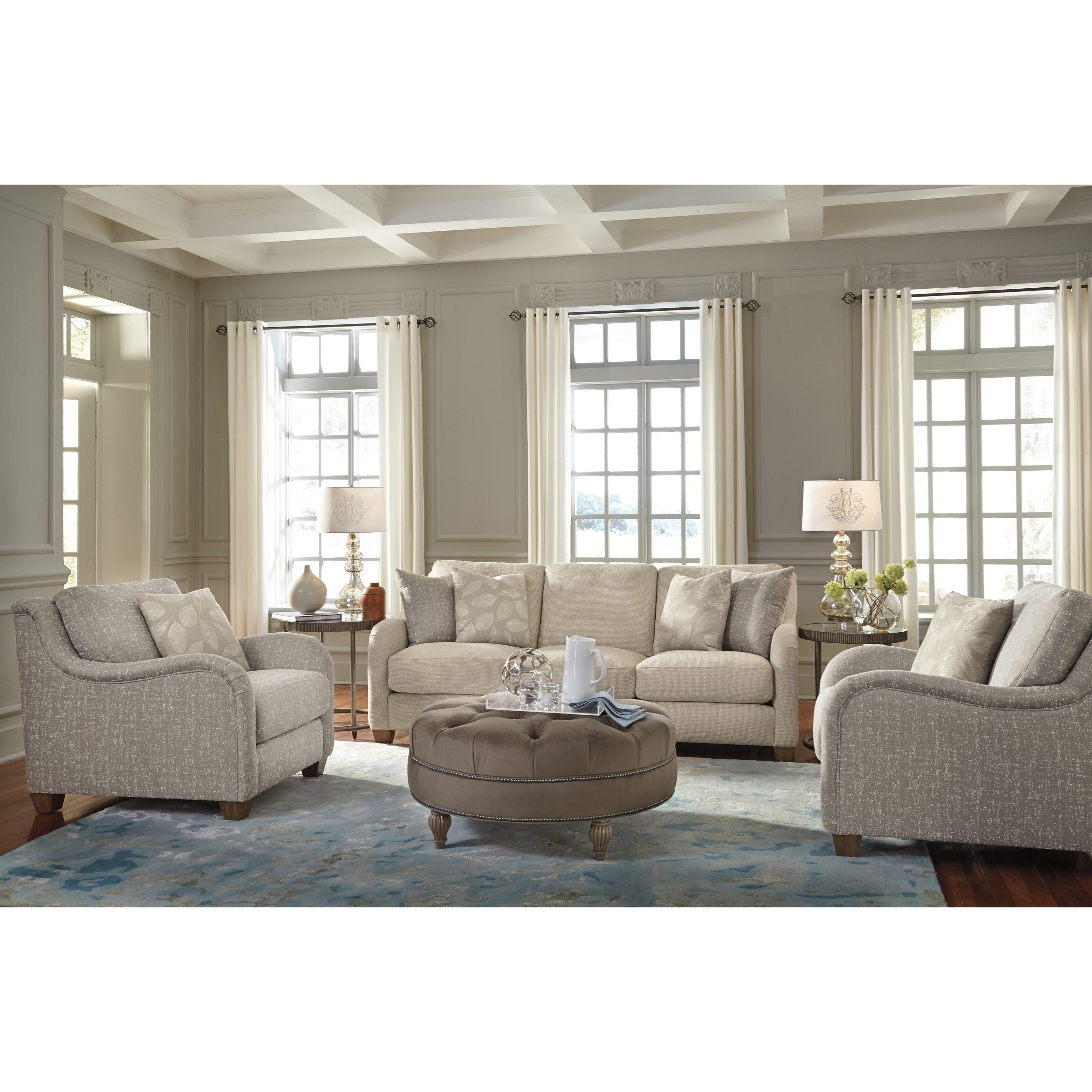 Flexsteel Fortuna Living Room Group - Item Number: 7908 Living Room Group 1
