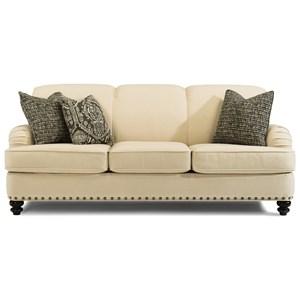 Traditional Sofa with English Arms