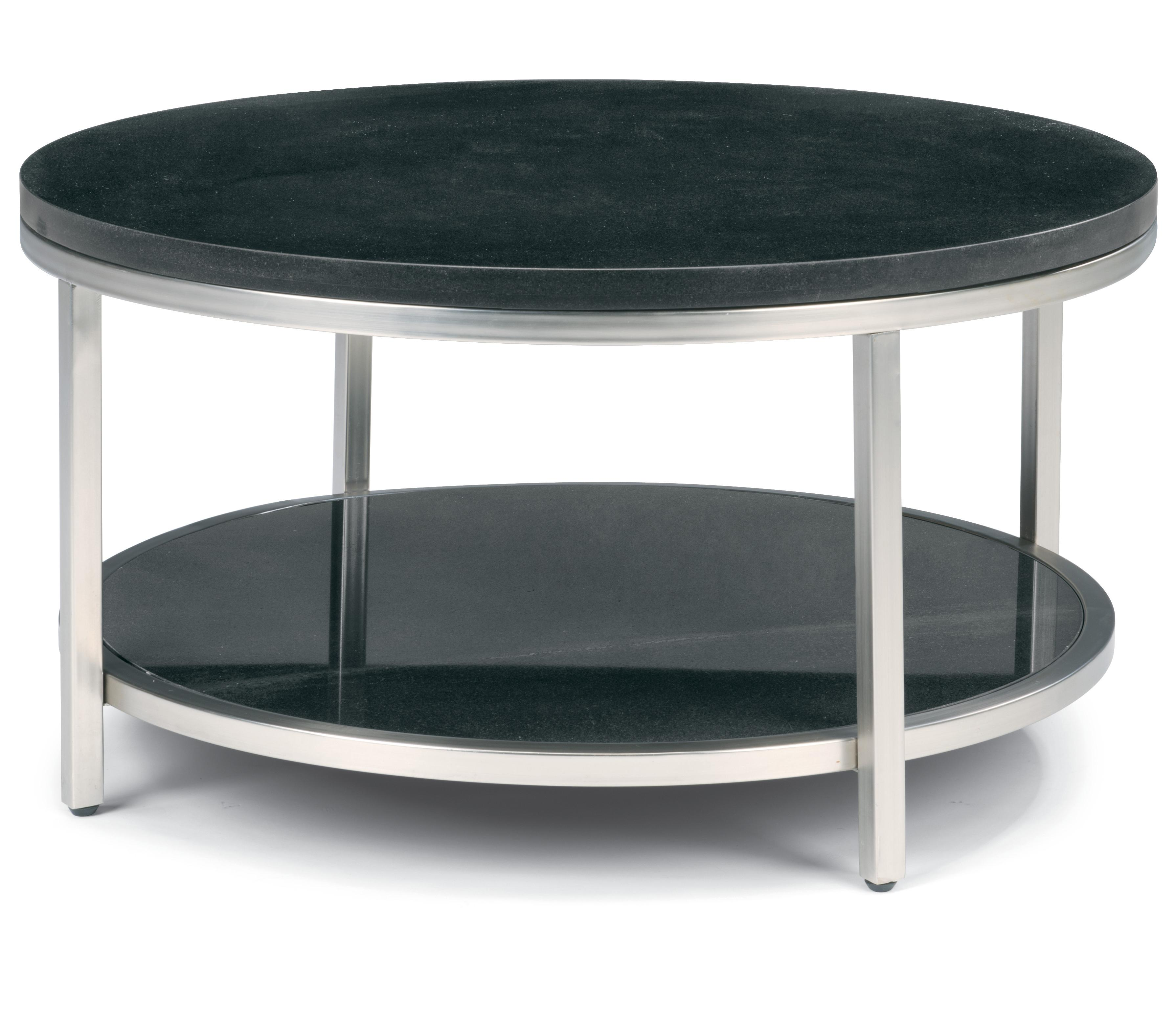 Flexsteel Galaxy Round Cocktail Table - Item Number: 6717-034