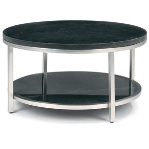 Flexsteel Galaxy Round Cocktail Table