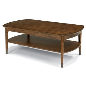 Flexsteel Gemini Rectangular Cocktail Table