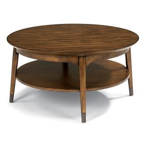 Flexsteel Gemini Round Cocktail Table