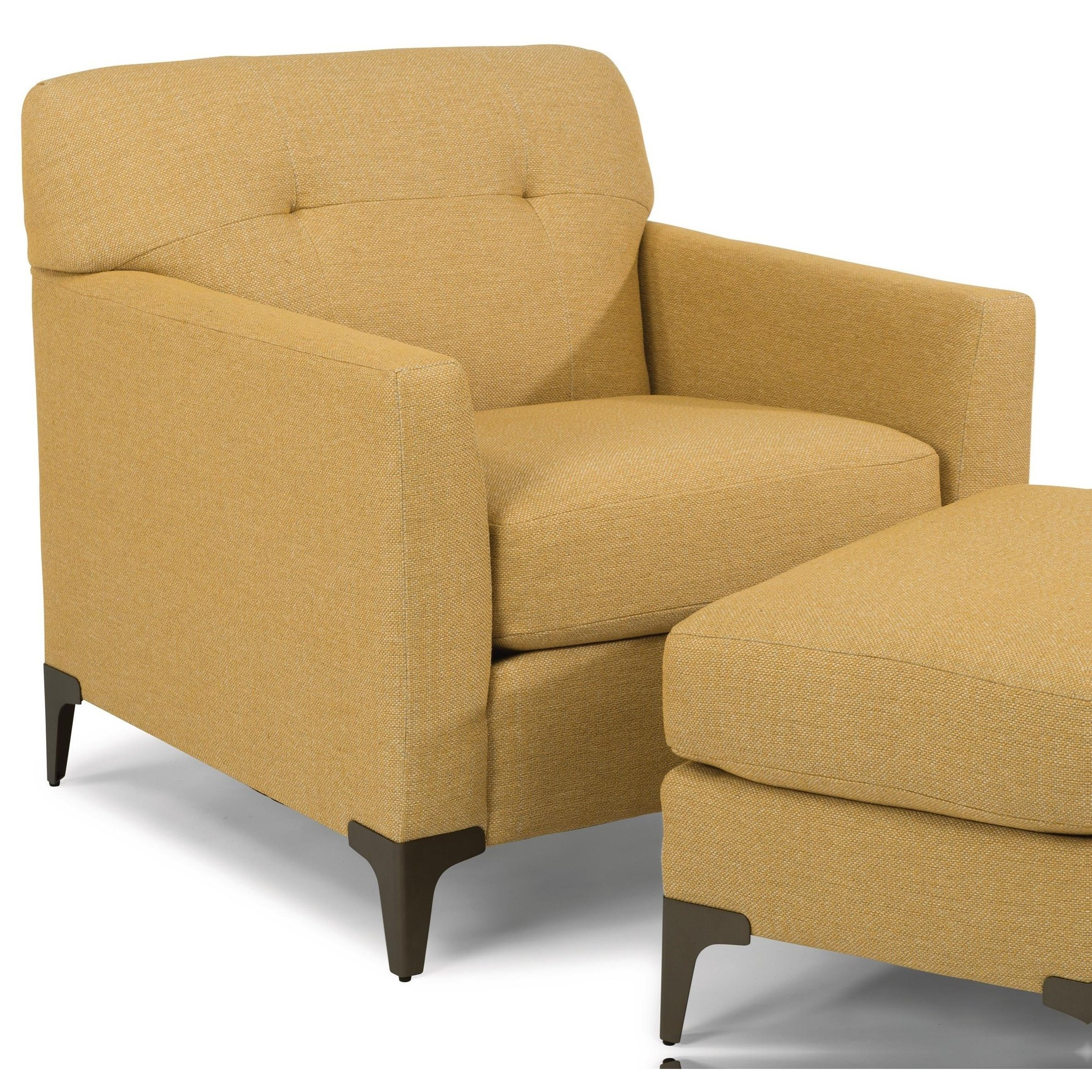 Picture of: Flexsteel Gibson Mid Century Modern Chair Conlin S Furniture Upholstered Chairs